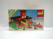 Vintage 1978and039 Lego Town Engine Company No. 9 590