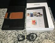 Barnes And Noble Nook Hd+ Plus Bntv600 16gb 9 Inch Tablet Pc Wi-fi W/ Case, Box