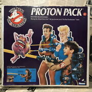1980 Time Thing Ghostbusters Proton Pack Kenner Old Boxed Marshmallow Man Movie
