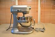 Kitchenaid Professional 6 Mixer Kl26m1xsl With Bowl, 3 Attachments And Manual