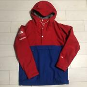 Supreme X Expedition Jacket Blue And Red Size M Rare Used 977/me