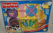 Box Not Perfect Fisher Price 2001 Musical Picnic Basket Set Radio,grill,food