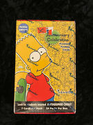2000 Inkworks   The Simpsons 10th Anniversary Trading Cards   Sealed Hobby Box