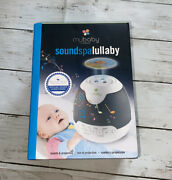 New Homedics Mybaby Lullaby Soundspa 9 Image Projection 6 Songs With Timer