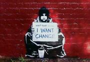 283826 Banksy Keep Your Coins I Want Change Print Poster