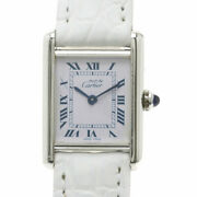 Must Tank Watches 6057002 Silver/leather Ladies
