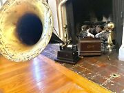 Edison Gem Phonograph With 2/4 Minute Cylinder Gearing