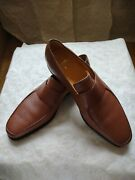 Nib Corthay Limited Edition Belaircamel Chestnut Loafers 9,5 Leather Sole 2,195