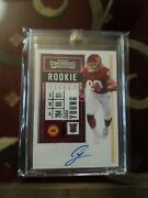 2020 Panini Contenders Chase Young Rookie Ticket Rps Auto Rc 102 Def Roy