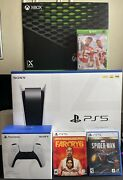 Ultimate Gaming Bundle Ps5- Playstation 5 And Xbox Series X Plus Extra