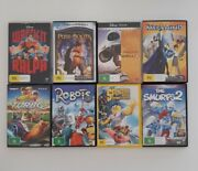 Wreck It Ralph Puss N Boots Turbo Robots Wall E Dvd Bundle Free Postage