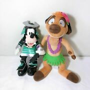 Discontinued Limited Editions Lion King Timon Leader 23 Cm Goofy Set Plush Toy