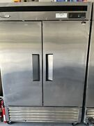 Turbo Air Msr-49nm Series Commercial Refrigerator - Stainless Steel. Used