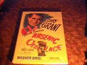 Arsenic And Old Lace Os Poster '44 Cary Grant Frank Capra