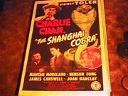 Shanghai Cobra Os Sidney Toler Charlie Chan And03945 Great
