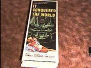 It Conquered The World 14x36 Movie Poster And03956 Horror