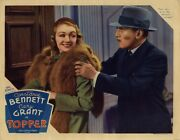 Topper 1937 Lobby Card Bennett, Young Now Let's Go To The Directors' Meeting
