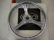 Weld Charger 321x2.15chrome Motorcycle Front Wheel