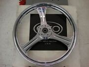 Weld Charger 3 18x8.5 Chrome Rear Motorcycle Wheel
