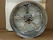 Weld Charger5 18x8.5 Chrome Motorcycle Rear Wheel
