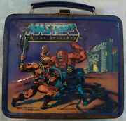 Vintage 1983 Mattel Masters Of The Universe Lunchbox