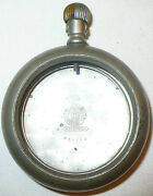 Antique Railroad Silverode Pocketwatch Case Only