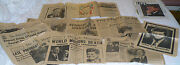 John F Kennedy Lot 1963 Newspapers Magazines From Assassination