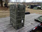 One Military Hardigg Surplus Shock Mount Rail Unit Storage Case Container Army