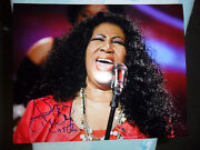 Aretha Franklin Autograph Proof Signed 8 X 10