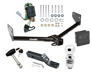 Trailer Tow Hitch For 03-04 Honda Element Deluxe Package Wiring And 2 Ball And Lock