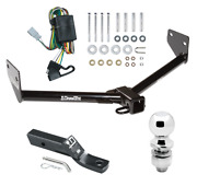 Trailer Tow Hitch For 03-04 Honda Element Complete Package W/ Wiring And 2 Ball