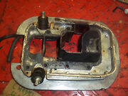 Chrysler 45 Boat Motor Lower End Pan I Have More Parts For This Motor