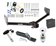 Trailer Tow Hitch For 05-06 Honda Element Deluxe Package Wiring And 2 Ball And Lock