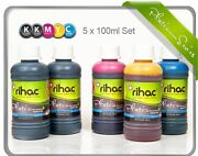 Rihac Refill Ink For Ciss Suits Canon Bci 6 Bci 3 Bci 24 Cartridge Ip3000 Ip4000