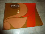 Panhard Berline 24 Models In French Literature Manual Brochure Pamphlet