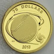2013 75 Hardball World Baseball Classic Pure Gold Proof Rare Only 121 Sold