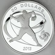 2013 World Baseball Classic The Pitcher 1 Oz Pure Silver 20 Rare Only 938 Sold