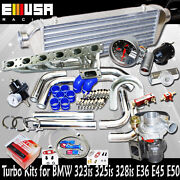 T3/t4 Internal Turbo Kits For 1991-1995 Bmw 325is Base Coupe 2d E36 V6 Engine