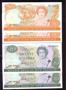 1977/87 New Zealand Qeii50201052 And1 Note .gem Unc Same No Consecutive