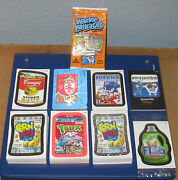 Wacky Packages Ans9 Complete Mega Master Set In Nm/mt Condition @@ Silvers @@