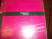 John Deere Tractor Operator's Manual 205 Rotary Cutter Issue F6
