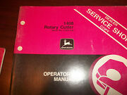 John Deere Tractor Operator's Manual 1408 Rotary Cutter Issue D1