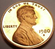 United States Proof 1980-s Lincoln Centsee All Our Lincoln Proofsfree Shipping