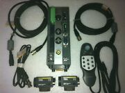 Omron Vision Mate Controller F210-c10 With 2x F160-s2 Camera And Console Set