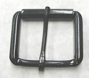 1-1/2 Black Roller Belt Buckle Steel Lot Of 100 Pieces High Quality New