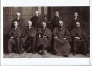 Melville Fuller Complete Us Supreme Court Justice Rare Signed Autograph W/ Photo