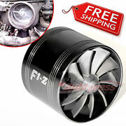 Air Intake Fan K Turbo Supercharger Turbonator Charger Gas Fuel Saver For Toyota