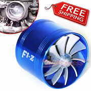 Air Intake Fan Bl Turbo Supercharger Turbonator Charger Gas Fuel Saver For Ford