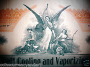 Pacific Fruit Cooling And Vapourizing Co Shares Historical Document 1910 La Ca