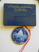 Bing And Grondahl 1990 Christmas In America Collection- The Capital- W Box
